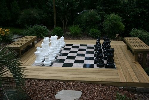 "Plastic Chess Set with 25"" King - Free Shipping $459.00"