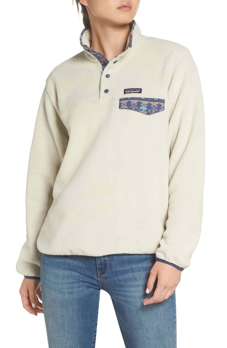 Patagonia Synchilla Snap T® Recycled Fleece Pullover in 2019
