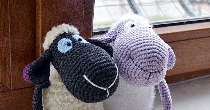 Amigurumi Yapılışı : Amigurumi amigurumi mor koyun yapılışı.amigurumi sheep free pattern