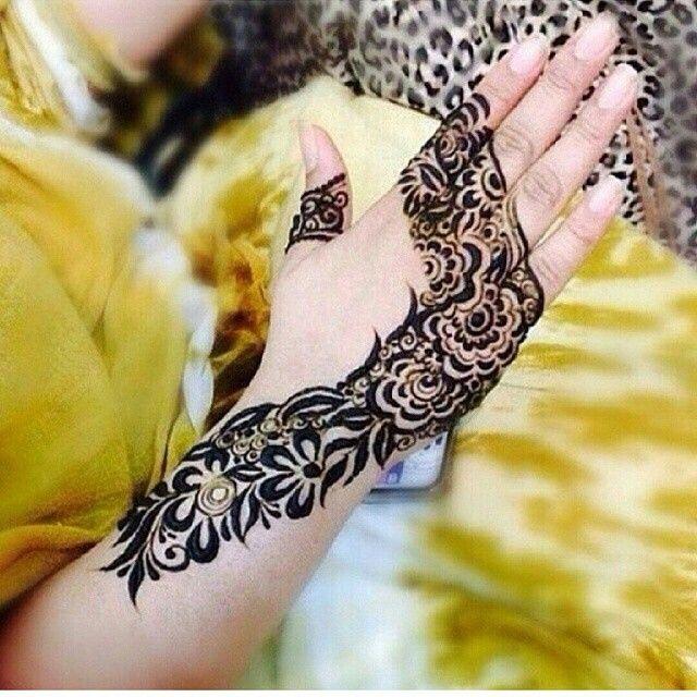 نقوش الحناء صور نقشات حناء هنديه بلمسة راقية2015 شبكة لمسة فنان Henna Henna Patterns Arabic Henna Designs