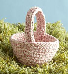 Easter Basket - Crochet - free pattern