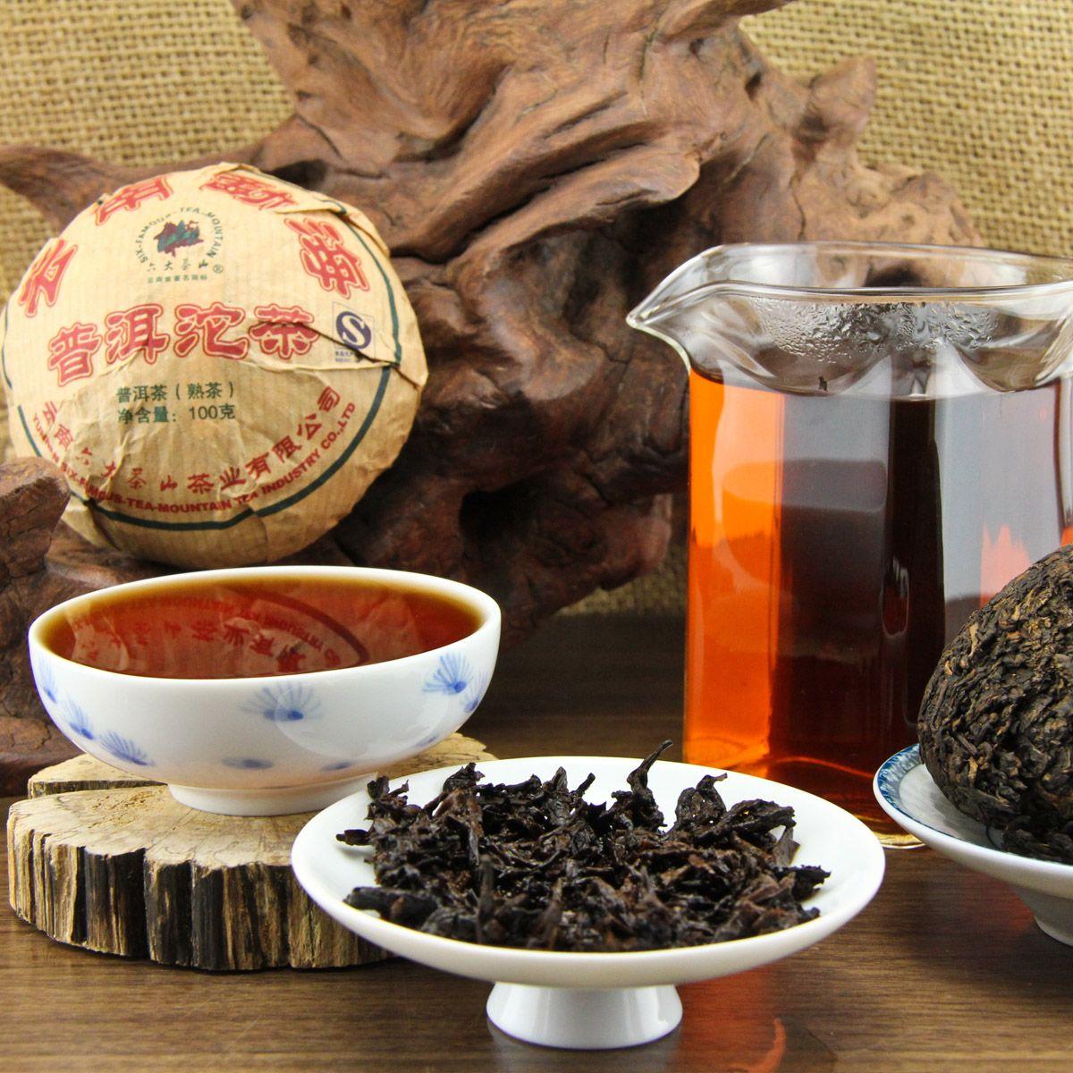 Китайский чай пуэр картинки