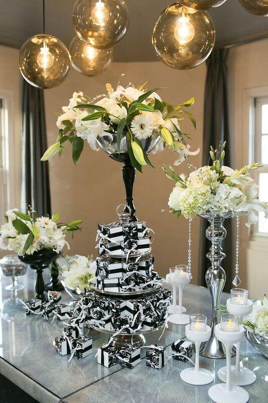 A stylish modern wedding patfreydesigns patfrey patfreyevents