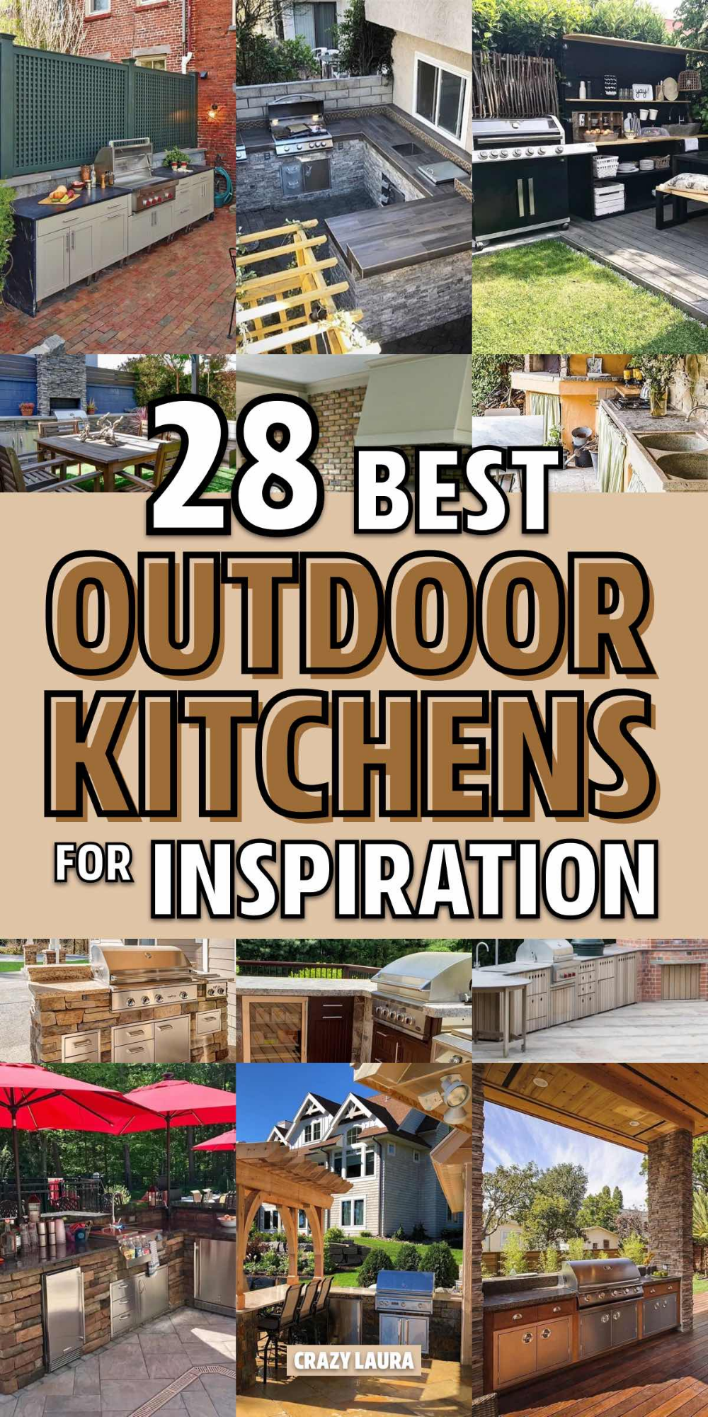 Best Outdoor Kitchen Ideas For Your Backyard In 2020 With 400 x 300