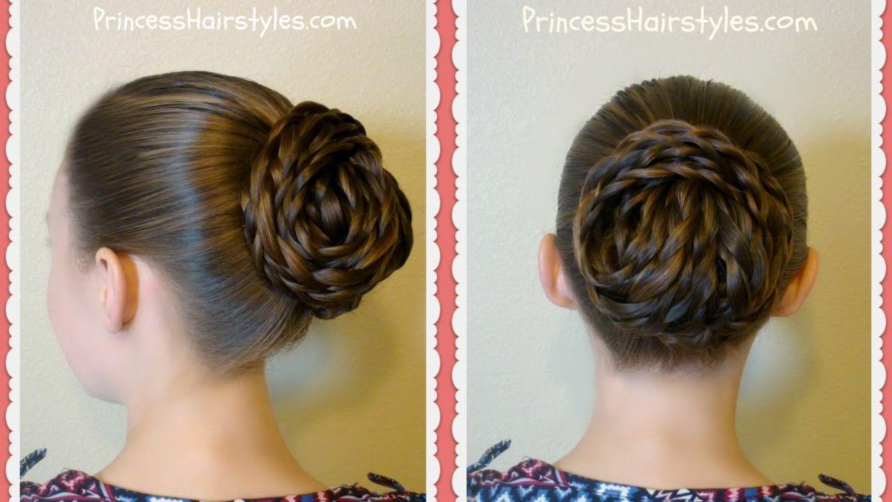 Elegant Textured Updo Easy Hair Tutorial Hair Styles Hair Tutorials Easy Hair Tutorial