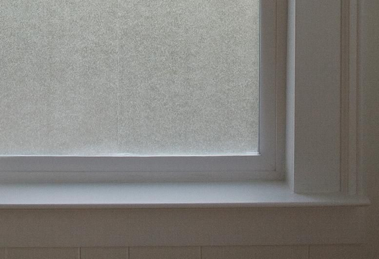 Wax Paper On The Windows For Privacy Nursery