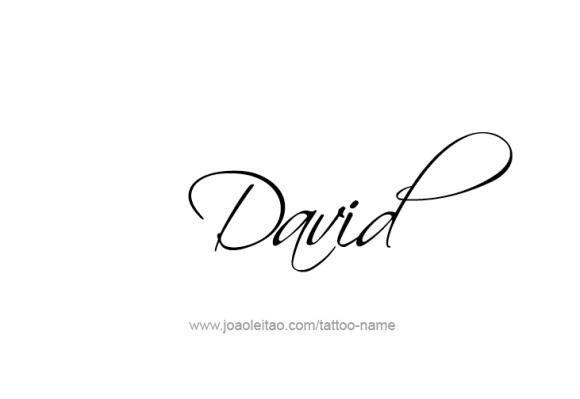 David Prophet Name Tattoo Designs Tatuajes De Nombres Tatuajes Para Nombre De Bebe Tatuaje De Infinito Con Nombres