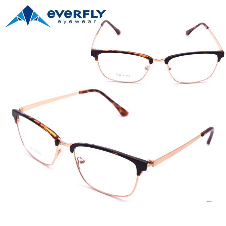 italian eyewear brands women metal spring hinge glasses frame ...