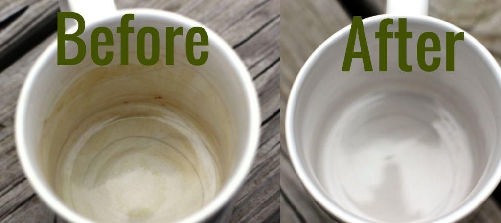 How To Clean Coffee Stains From Mugs Enlever Les Taches De Cafe