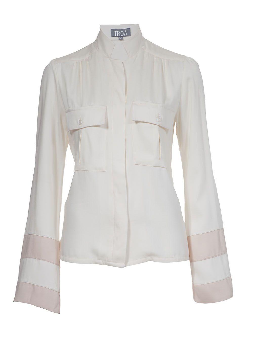 Troá Camisa Off White. - Troá - farfetch.com.br
