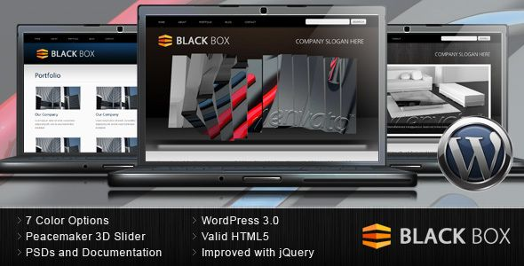 Black Box Portfolio And Business WordPress Theme 40