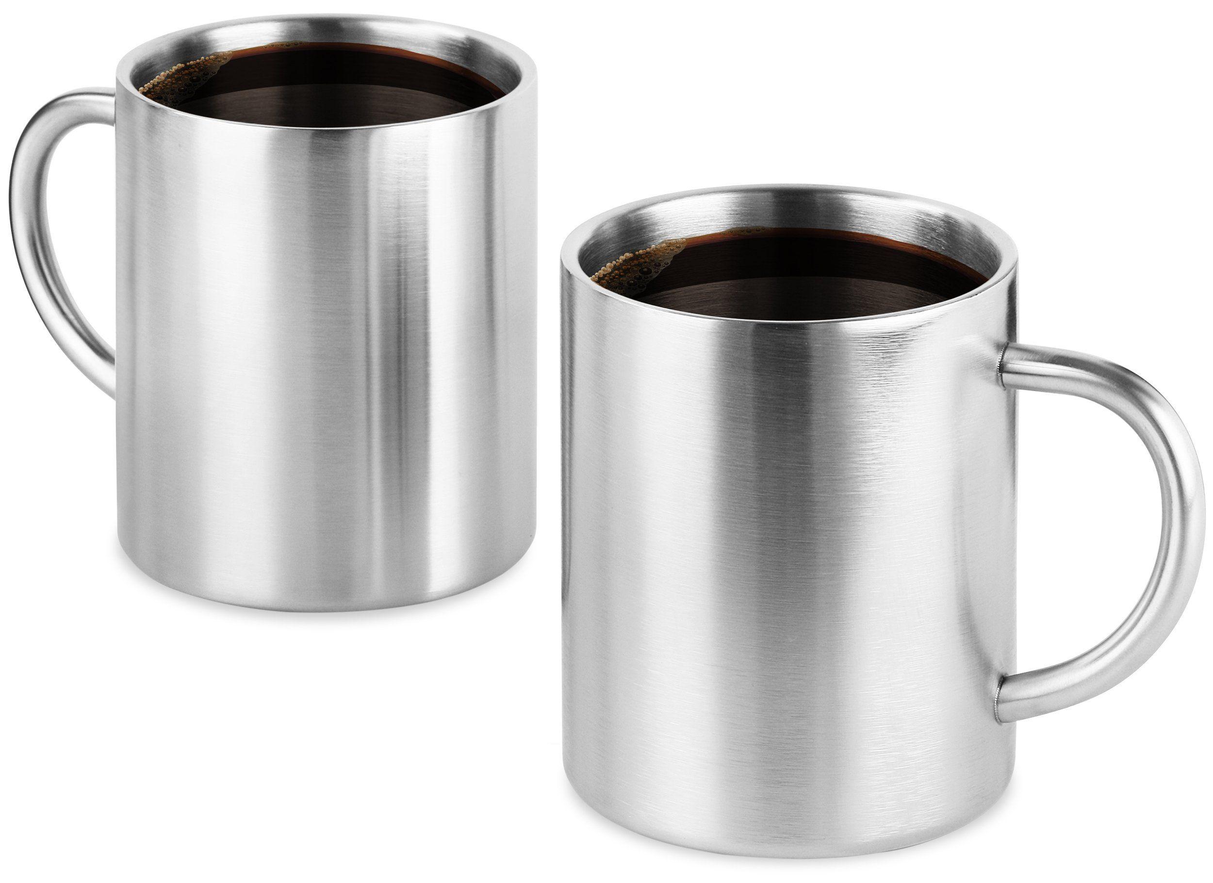 Coffee Mug 14oz Insulated Set Of 2