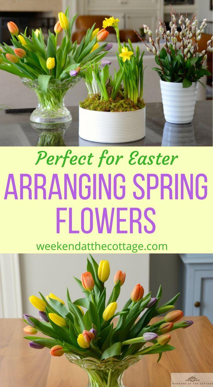 Arranging Spring Flowers Part Two Spring Flower Arrangements