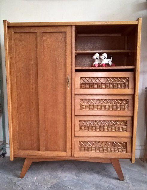 Une jolie armoire des années 50 wwwmonpetitmeuble Fabulous