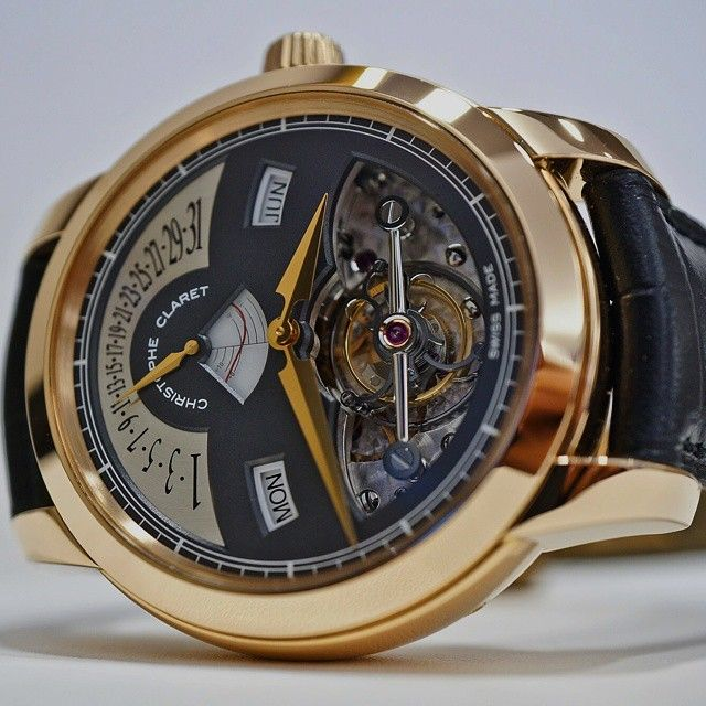 Swisswatches Christophe Claret Rialto From The Claret Equation Of Time Rialto