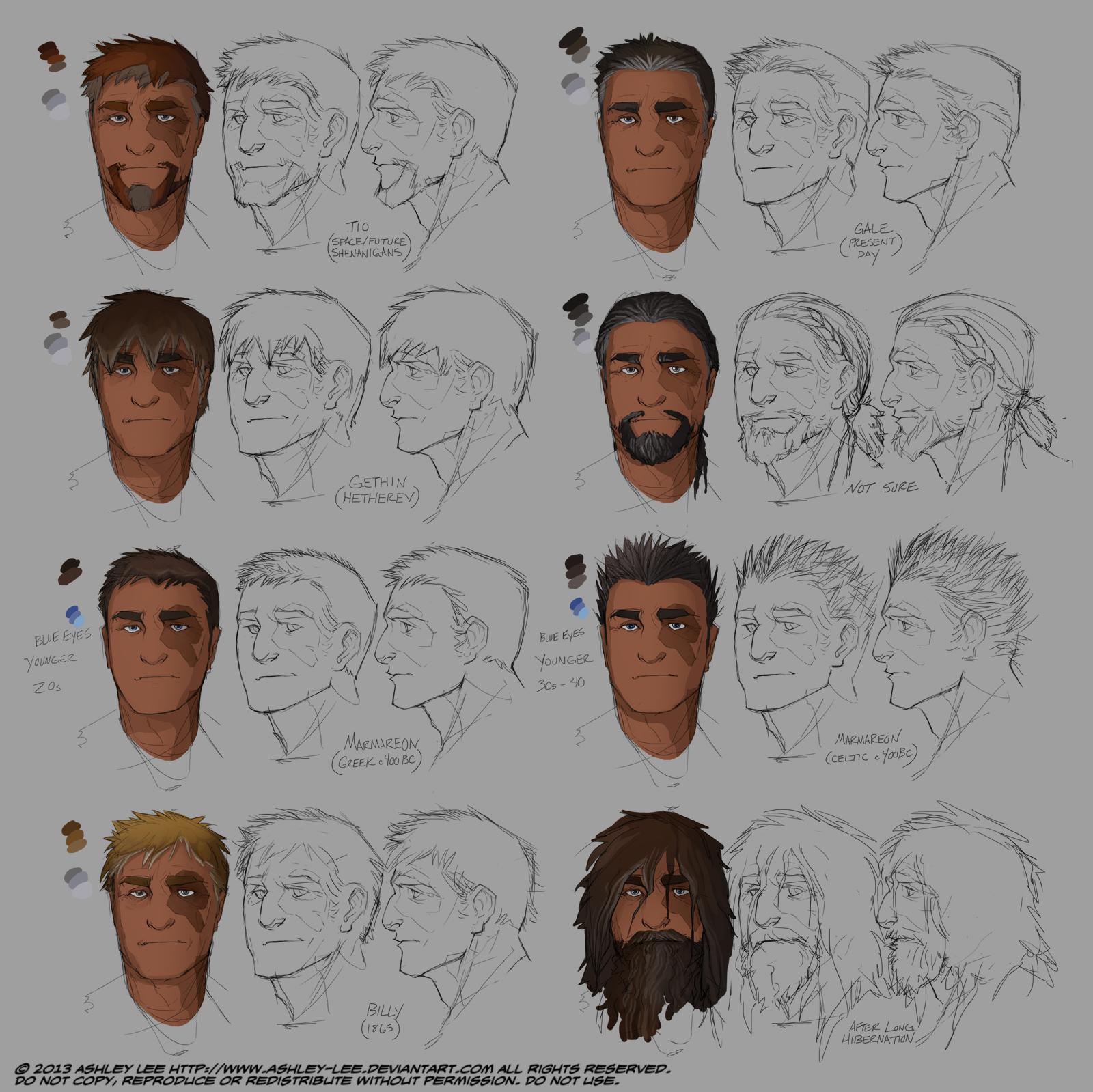 Gale Identities by GreekCeltic on DeviantArt