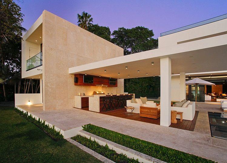 Private Residence In Miami Homeadore Modern Miami Contemporary Outdoor Modern Patio