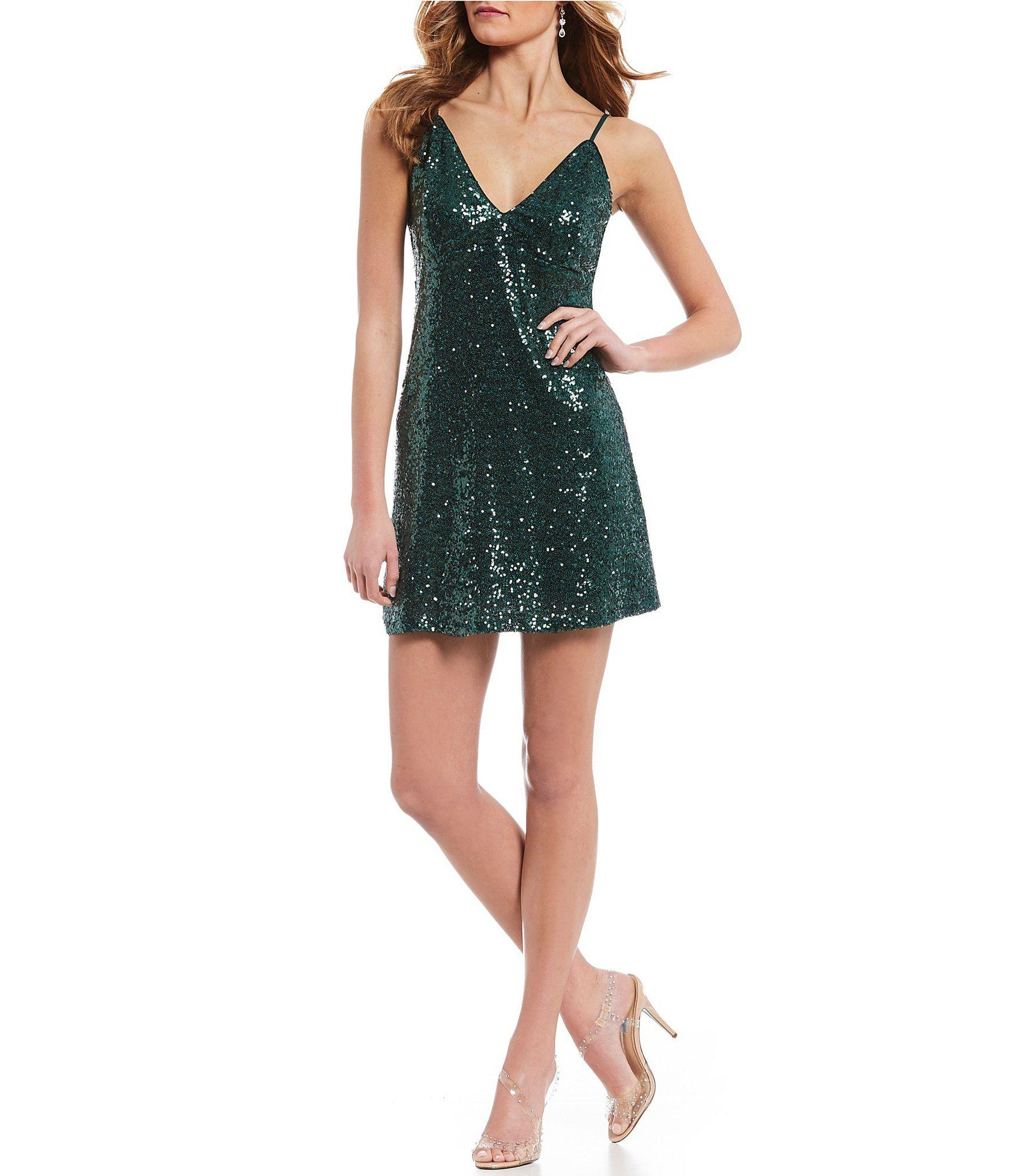ec3a84519 Shop for Xtraordinary V-Neck Sequin Slip Dress at Dillards.com. Visit  Dillards.com to find clothing, accessories, shoes, cosmetics & more.