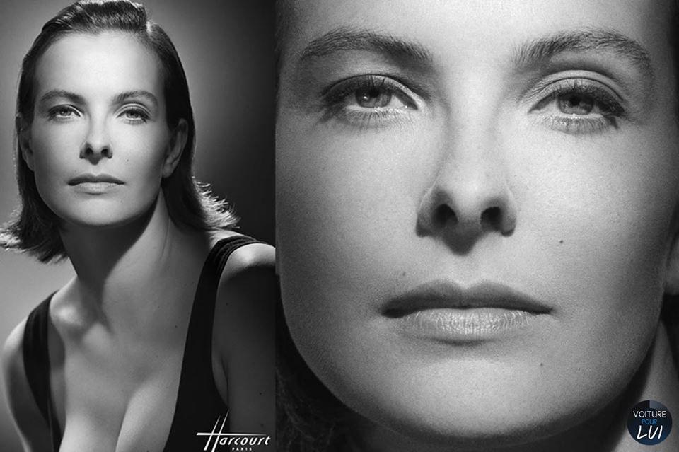A atriz francesa Carole Bouquet., faz parte das flores atrizes francesas.