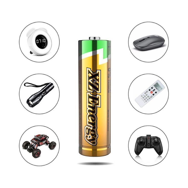 Lr6 Aa Alkaline Batteries Alkaline Battery Batteries Blister Card