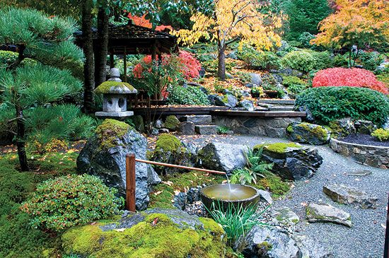 A Japanese Inspired Garden That Flourishes In Fall   Guiding Principles Of  The Cunningham Garden   Featured Gardens   Gardens   Canadian Gardening