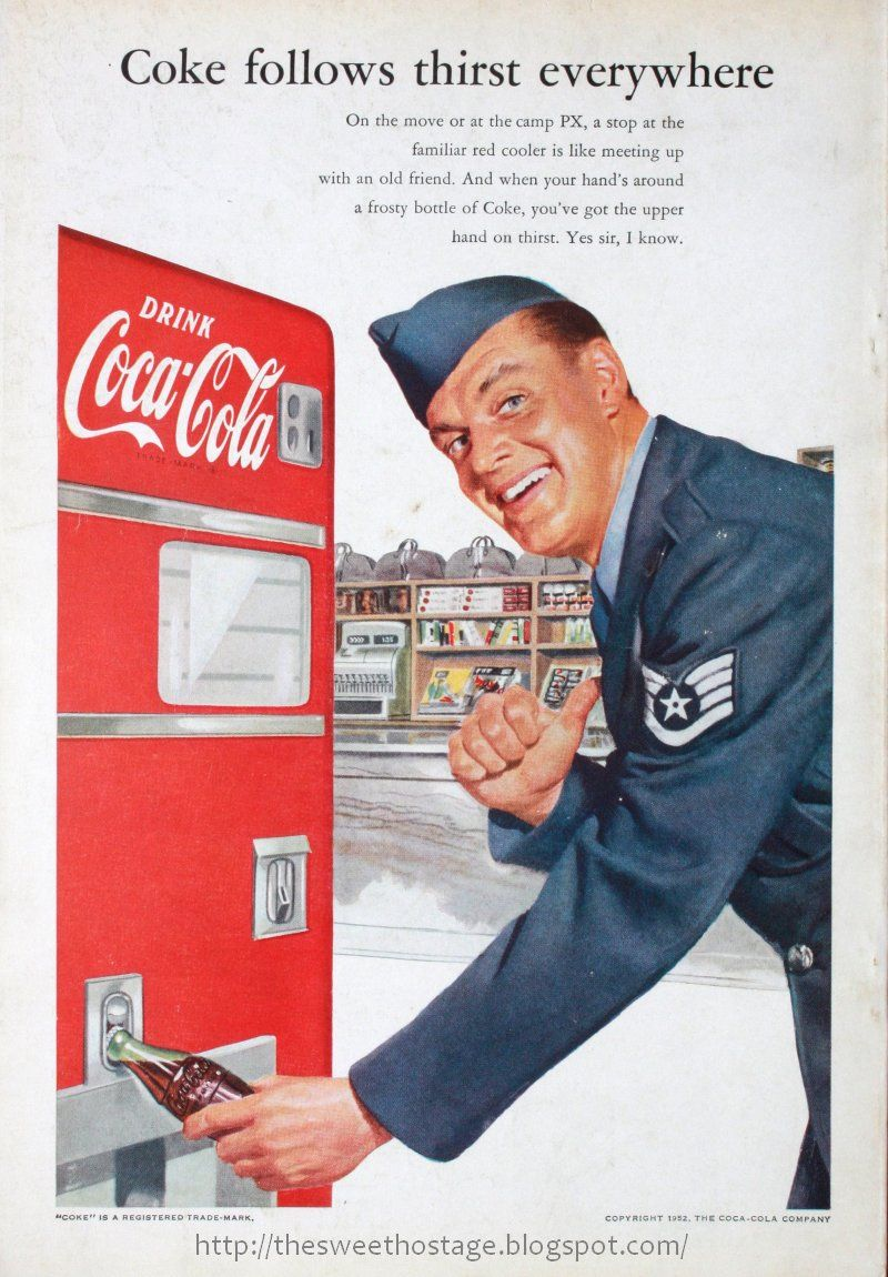 Vintage Coke Ads SWEET HOSTAGE VINTAGE COKE ADS ( 14