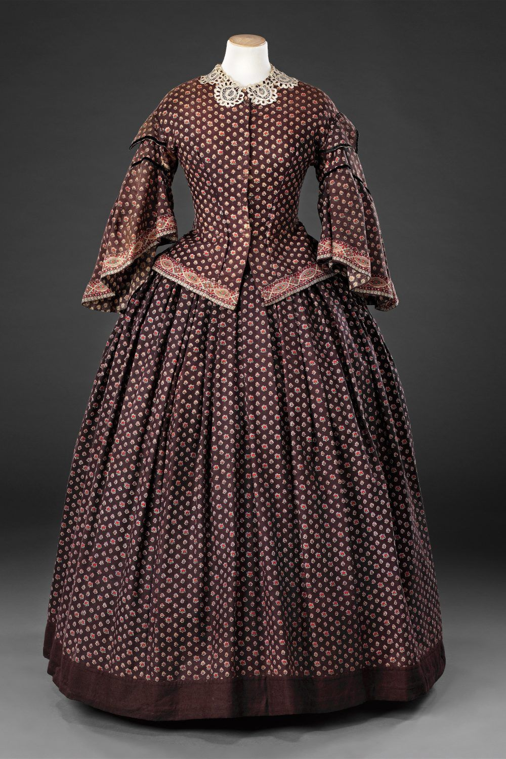 Dress Mid 1850s John Bright Collection Dresses 1800s