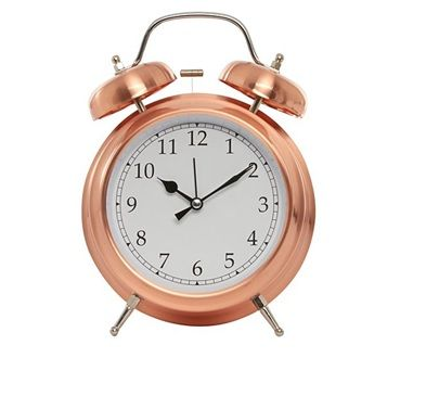 Copper Copper Home Accessories George Home Clock