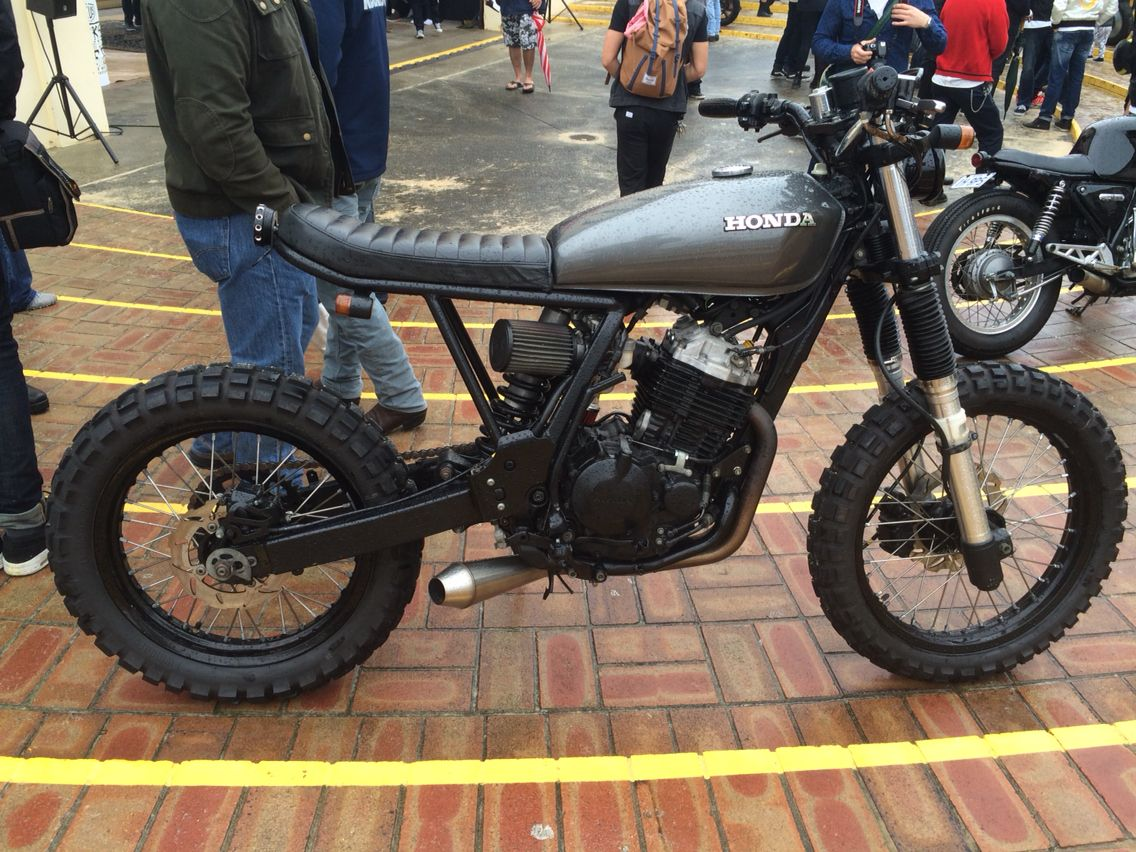 small resolution of honda xr400 scrambler at deus bike build off bondi
