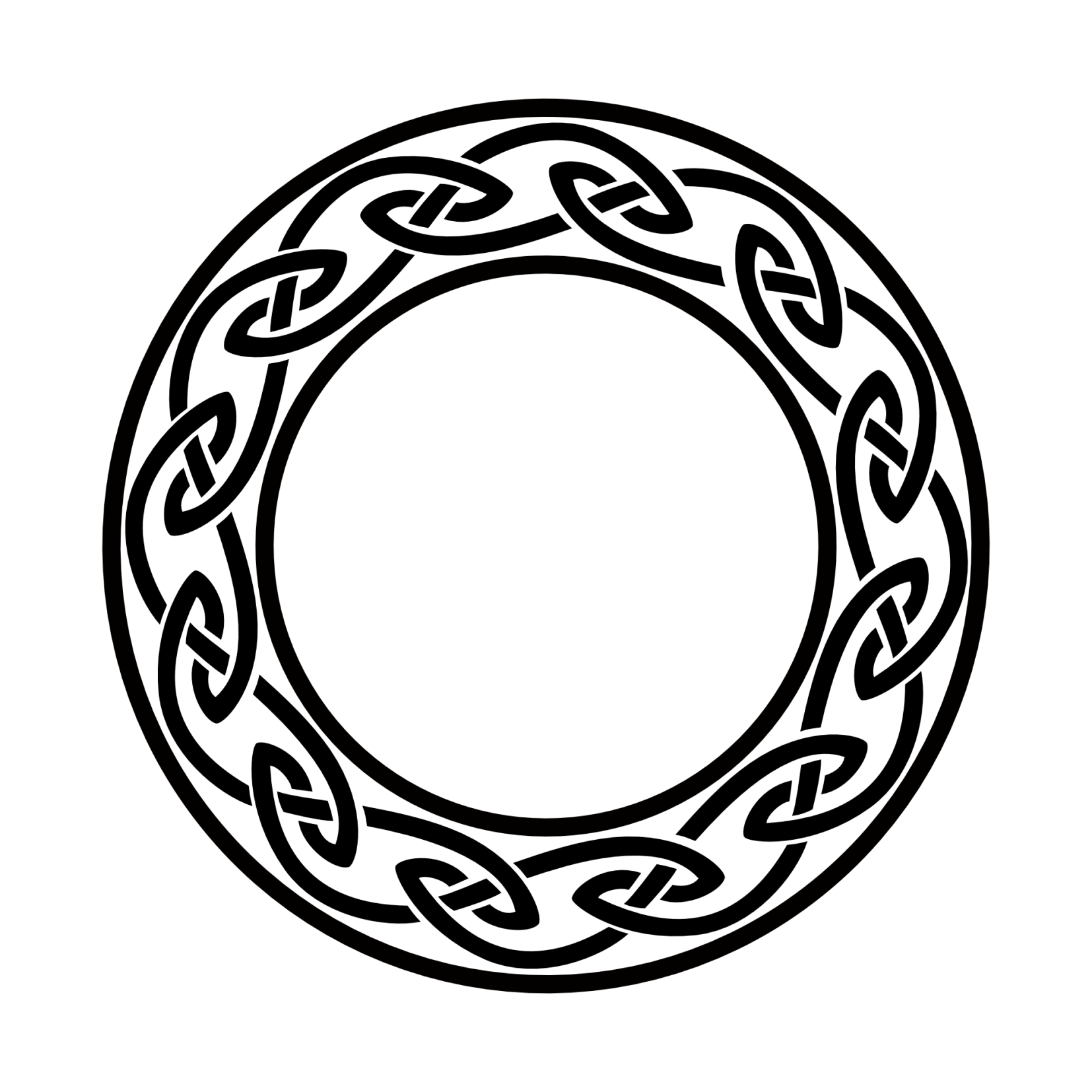daf0d582d Celtic circle [Irish knots circle flash tattoo] | Tattoos | Celtic ...