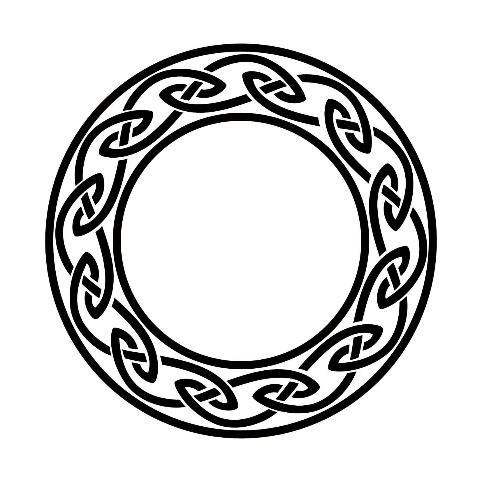 Numerologia A Kelta Parhuzamok Circle Tattoos Celtic Circle Celtic Symbols