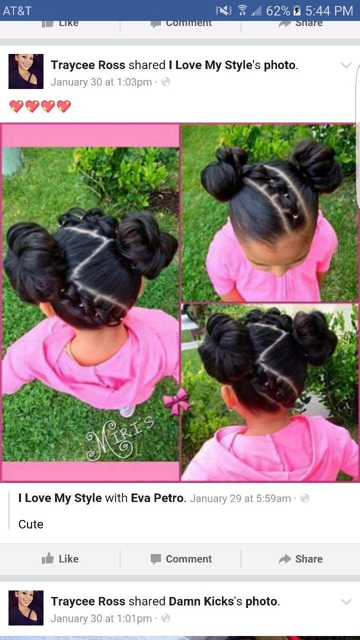 Pin de Simone Turner en Little Girls Hair   Pinterest   Trenza ...