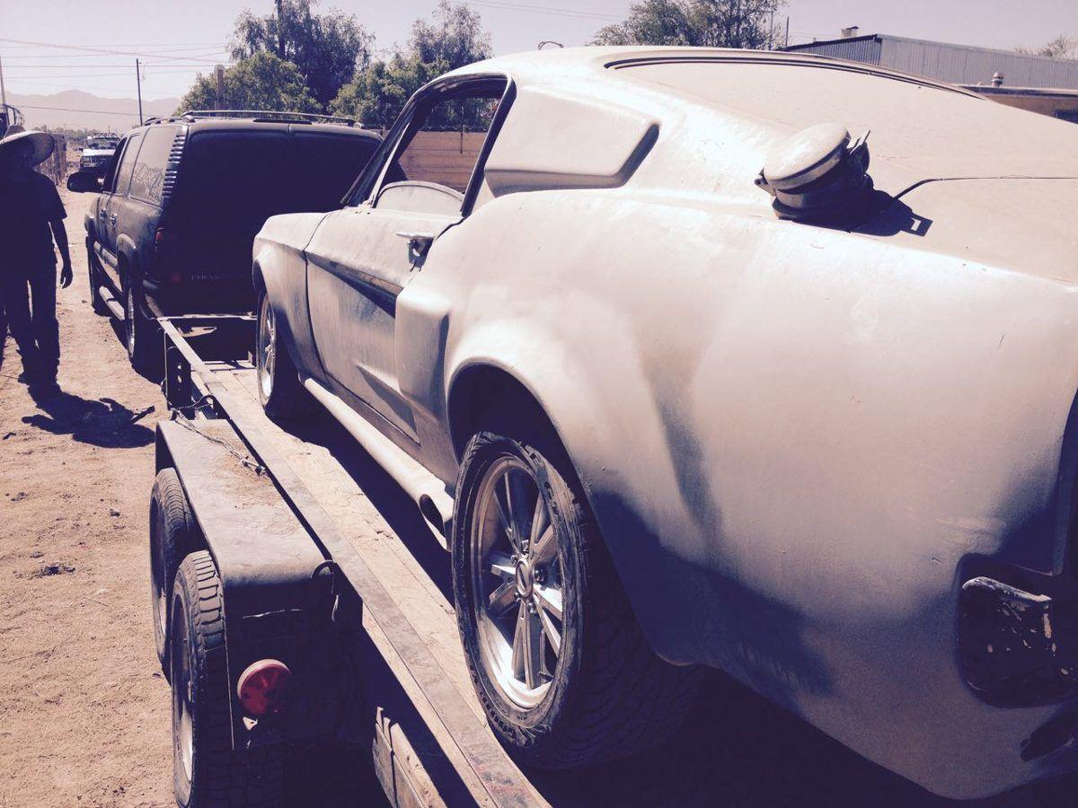 Mustang Fastback Eleonora 67 - Año 1967 - 100000 km - en Mercado Libre