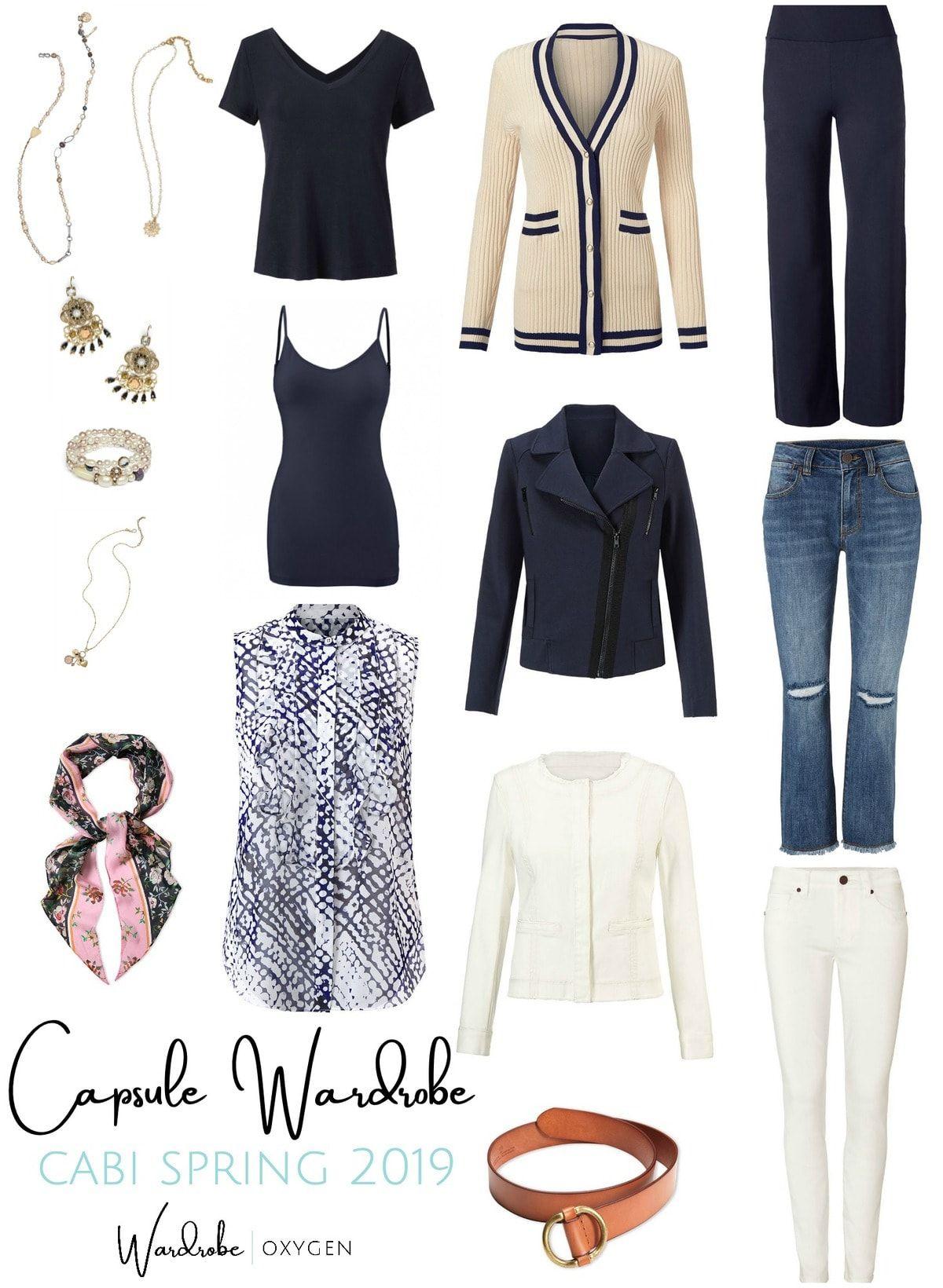 A Spring cabi Capsule Wardrobe | Wardrobe Oxygen
