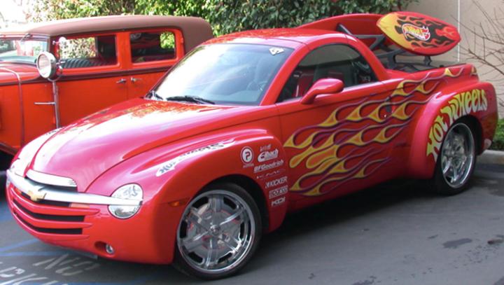 Hotwheels Chevrolet Ssr Chevrolet Ssr Chevy Ssr Chevy Pickups