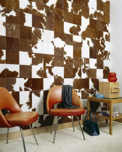 Spinneybeck's Haired Hide Leather Tiles