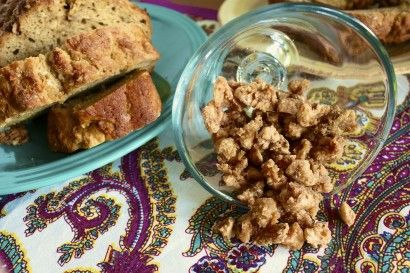 Pumpkin Spiced Candied Nuts - such a great snack, I think I'm making these for holiday gifts