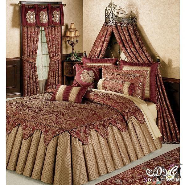 مفارش سرير للعرائس موديلات راقية وانيقة Bed Spreads Luxury Bedding Bedroom Design