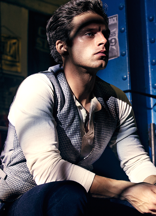 Sebastian Stan photographed by Dennis Leupold for GQ Romania, 2014.