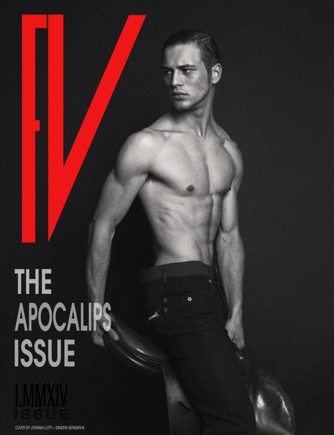 FV MAGAZINE Men cover - THE APOCALIPS ISSUE : FV magazine