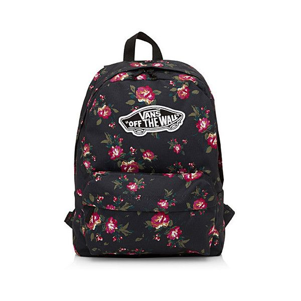Vans Printed backpack ( 35) ❤ liked on Polyvore featuring bags ... 390468fad2