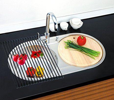 snaideal Rutschfeste Abtropfgitter Multifunktionell Rollmatte - spüle für küche