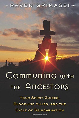 Communing with the Ancestors: Your Spirit Guides, Bloodline Allies, and the Cycle of Reincarnation by Raven Grimassi http://smile.amazon.com/dp/1578635934/ref=cm_sw_r_pi_dp_.9WZwb1YTPVRF