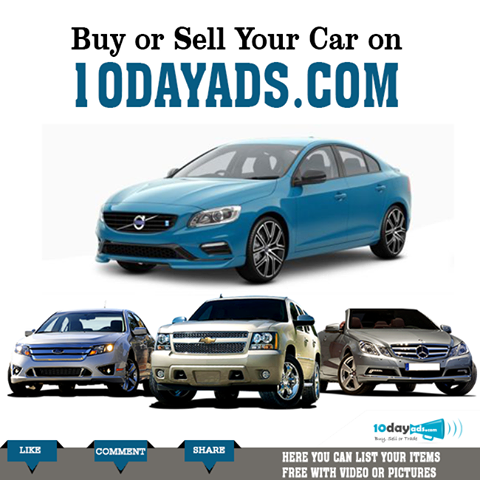 Buy Or Sell Your Car On 10dayads Com Buyusedcar Sellcar Free Classified Ads Online Advertising Free Advertising
