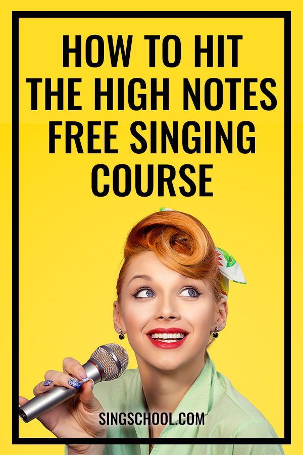 Tips on Singing High Notes - Free online singing lessons ...