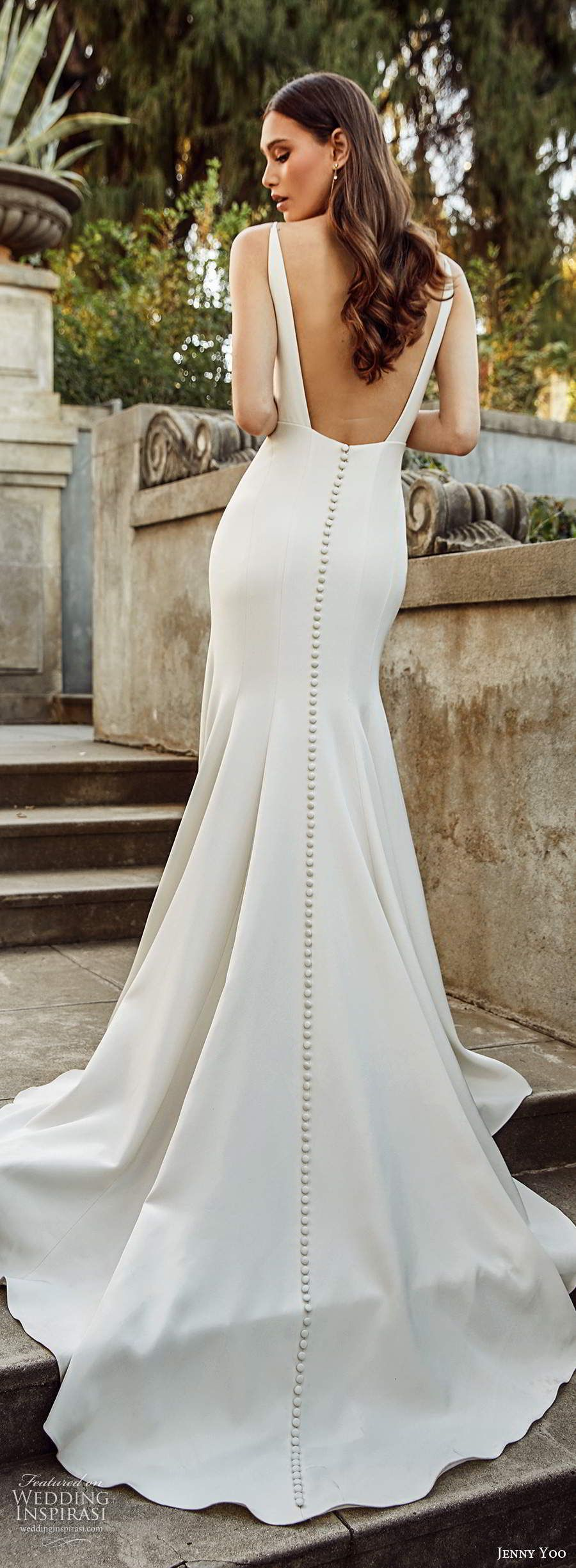 Jenny Yoo Collection Spring 2020 Wedding Dresses Wedding Inspirasi Wedding Dress Low Back Wedding Dresses Simple Minimalist Wedding Dresses [ 2450 x 900 Pixel ]