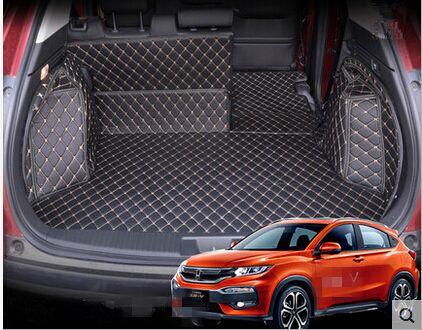 Aa Special Trunk Mats For Honda Hr V Waterproof Easy To Clean Boot Carpets For Honda Hrv Lagguge Pad Honda Hrv Honda Best Midsize Suv