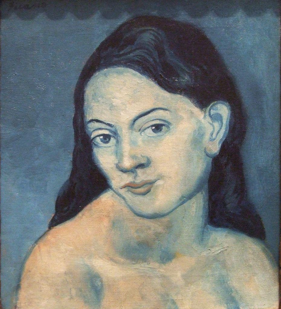 Pablo Picasso- portrait de femme