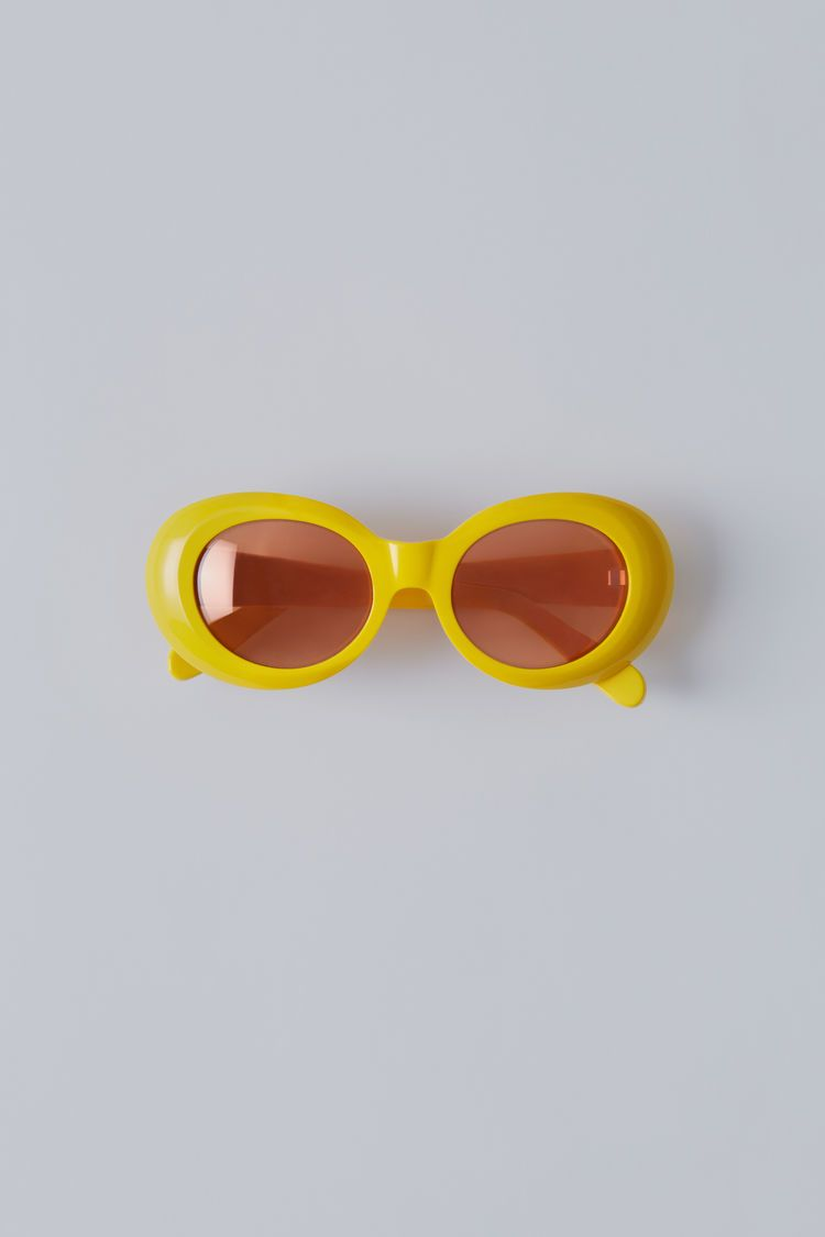 Acne Studios, Mustang, YellowOrange Mirror, 375x