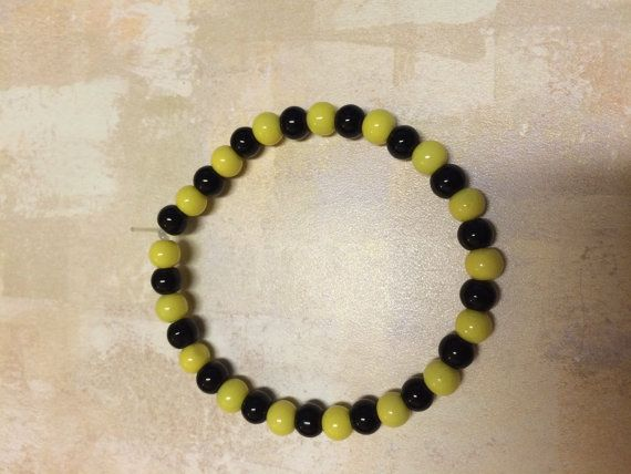 Hey, I found this really awesome Etsy listing at https://www.etsy.com/listing/239187962/pittsburgh-sports-themed-bracelet